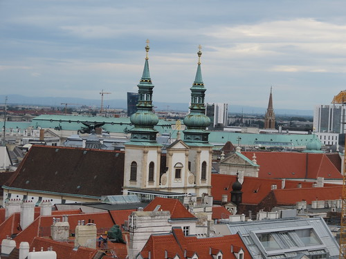 Vienna from the top of Stephansdom