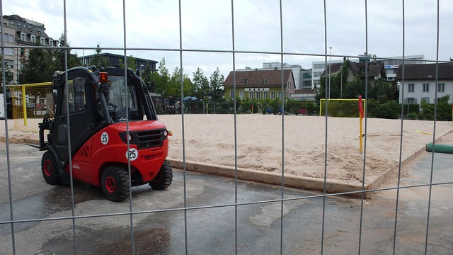 Beach Volleyball Dornacherplatz, Solothurn