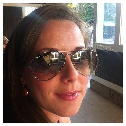 Happy birthday to me...love my new sunglasses from david.