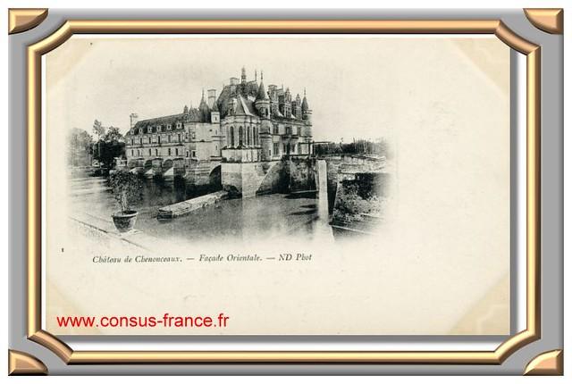 Château de CHENONCEAUX - Façade Orientale -70-150