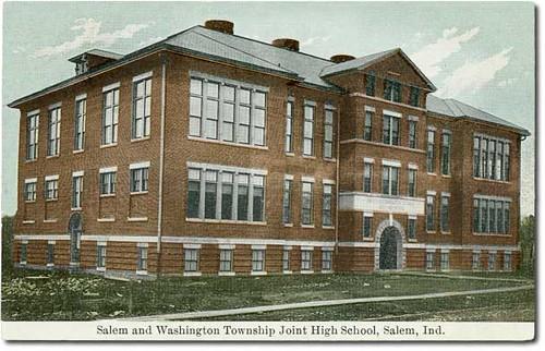 usa color history buildings indiana salem schools washingtoncounty hoosierrecollections