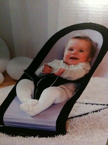 Example Baby on Baby Bjorn Box