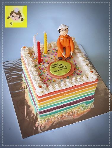 Rainbow Cake Erna