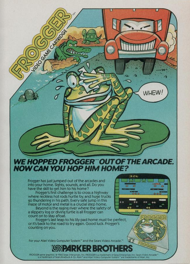 frogger 1982
