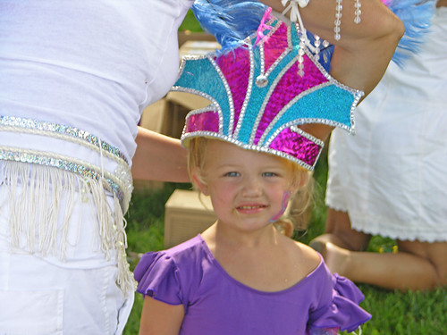 Carifest 2012 little girl crown