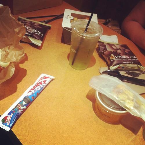 birthday lunch at panera