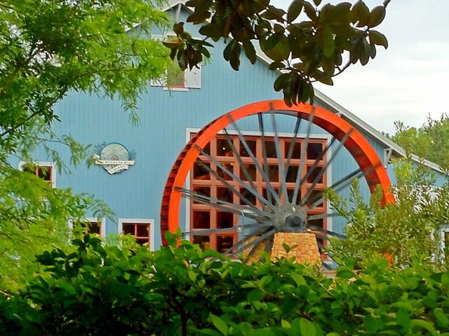 Port Orleans Riverside Water Wheel Flickr Photo Sharing