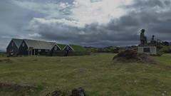 Sjómannagarður (Maritine Museum) in Hellisandur in the Snæfellsnes Peninsula in Iceland - July 2012
