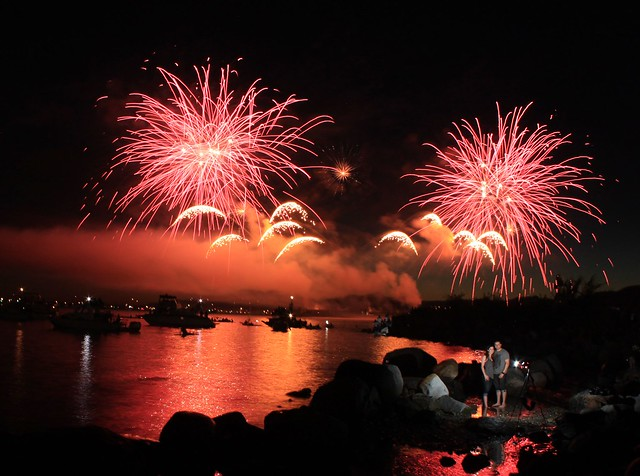 Celebration of Light Fireworks - Italy