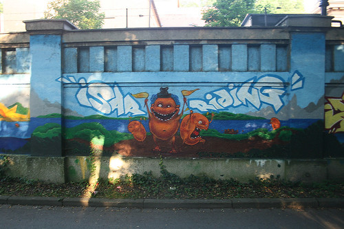 Graffiti - Muffathalle