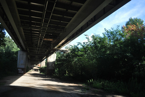Under the M4 - diagonal