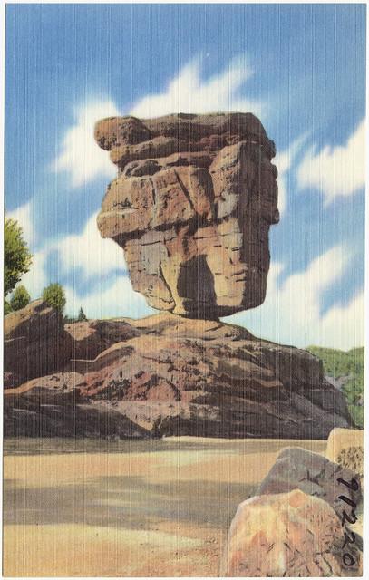 Balanced Rock Garden Of The Gods Pikes Peak Region Colorado Flickr Photo Sharing