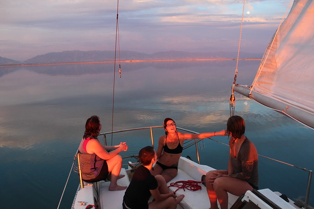 sailing the great salt lake