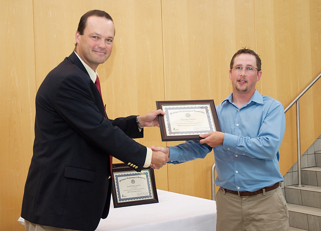 Brandon Bal, 2012 Outstanding Young Alumnus Award Recipient