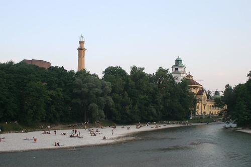 Isarufer - Kleine Isar - Müllersches Volksbad