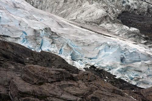 210 en el Glaciar de Brevatner