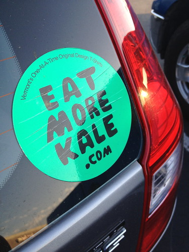 Eat more kale sticker
