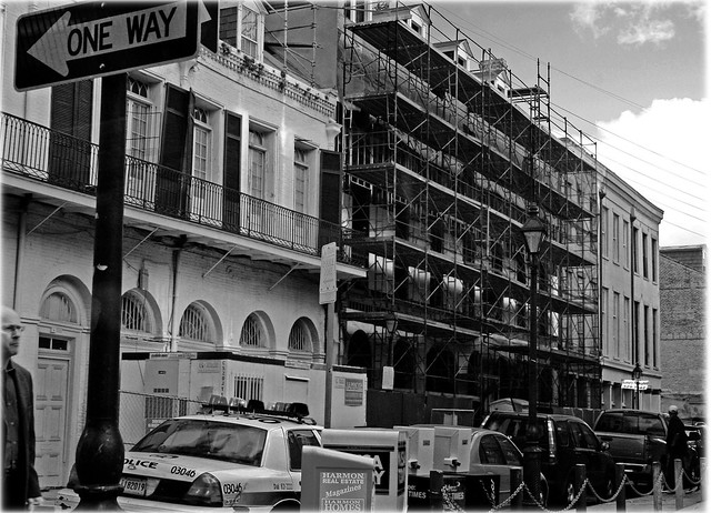 Scaffolding, New Orleans