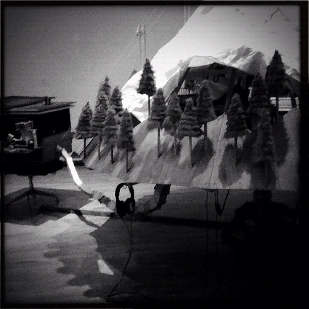 Graeme Patterson's The Mountain (at MASS MoCA)
