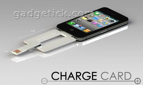 Chargecard из Kickstarter