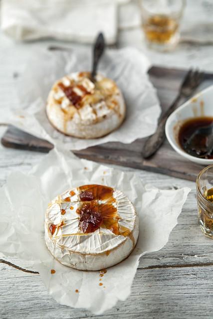 [231/366] Baked Camembert With Jack Daniel's Sauce