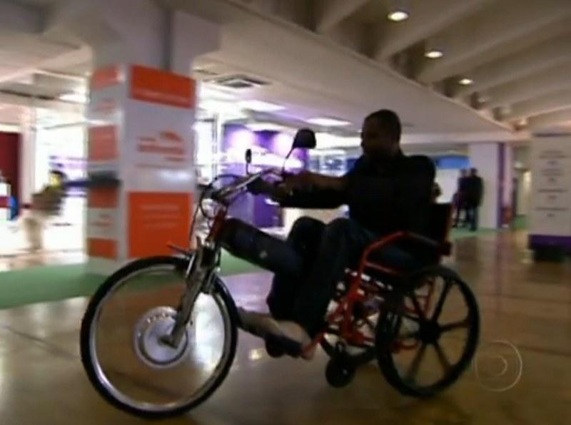 Protótipo de Triciclo Elétrico