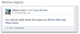 페이스북 멘션태깅