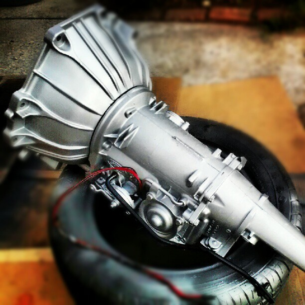 Repainted Ford C4 Automatic Transmission Flickr Photo