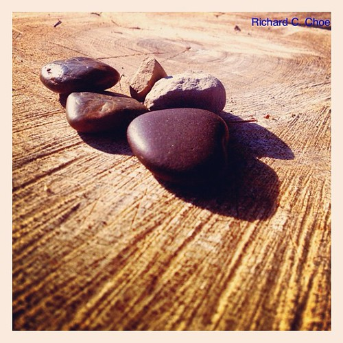 Pebbles by rchoephoto