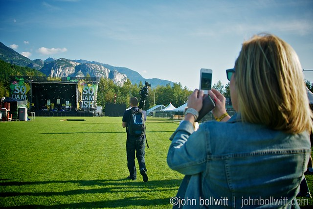 Live At Squamish 2012 - The Tragically Hip soundcheck