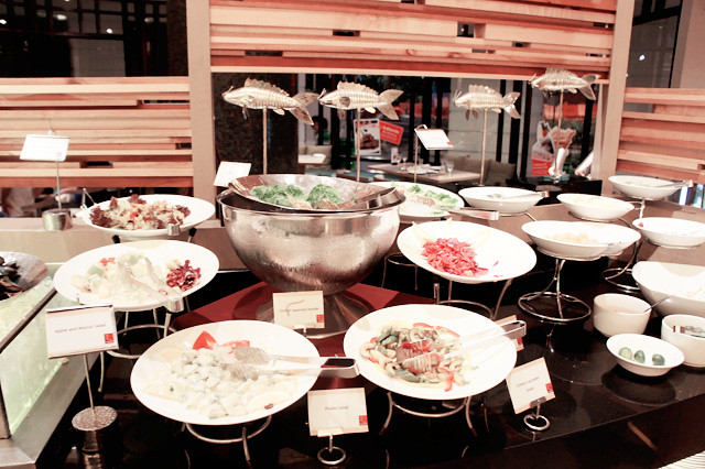 Straits Cafe buffet @ Rendezvous hotel