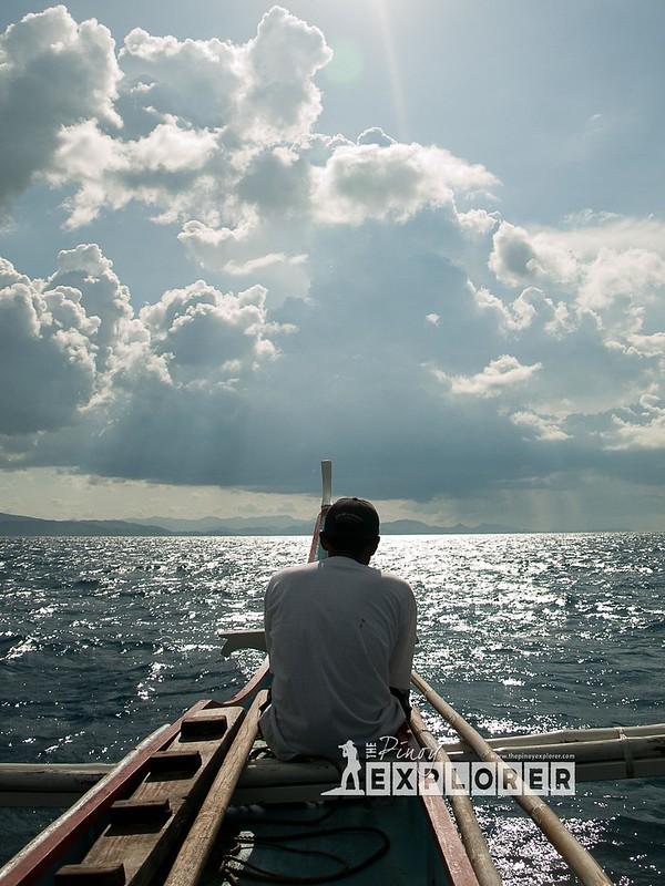 Sailing through Masbate Pass