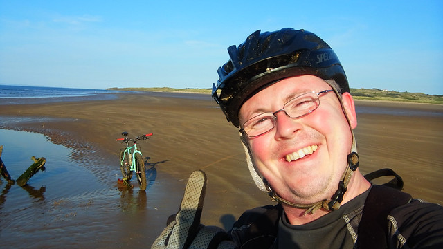 Aberlady and Gullane beachride.
