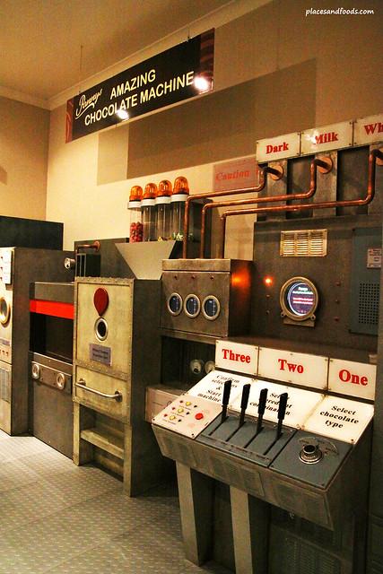 philip island chocolate machine