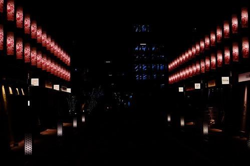 lantern street Nihonbashi Sakura festival 21