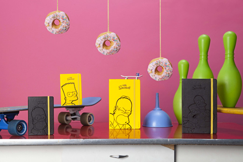 Moleskine*Simpsons