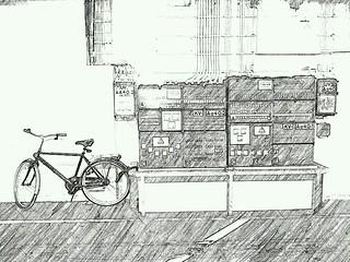 Fahrrad parken verboten