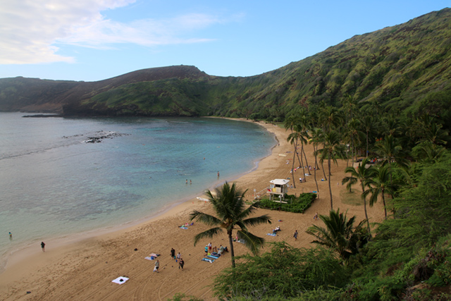 Beach and snorkeling at Hanauma Bay