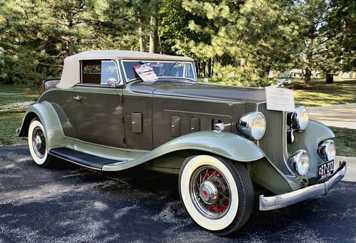 Unrestored, all-original 1932 Packard 900-Series