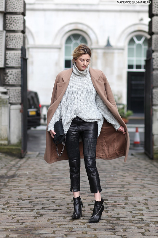 Camille Charriere at London Fashion Week