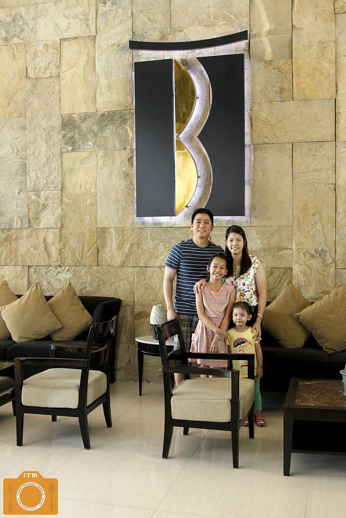 B Hotel family photo