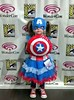 Wonder Con 2014. Ella as the Cap