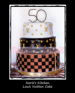Norie's Kitchen - Louis Vuitton Cake
