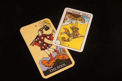Playing the fool...