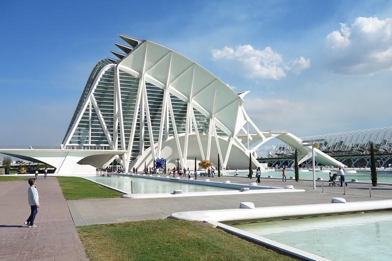 Valencia Ciudad de las artes y de las ciencias