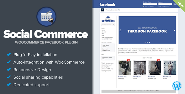 Social Commerce v1.5.0 – WooCommerce Facebook Tab