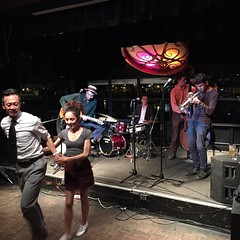 Southern flavour north of the border. #swing #Lindy #balboa #vancouver #dance #jazz #granvilleisland