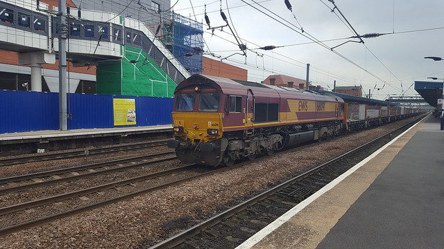 66091 at Doncaster on 4D56 Biggleswade Plamor to Heck Plasmor PS