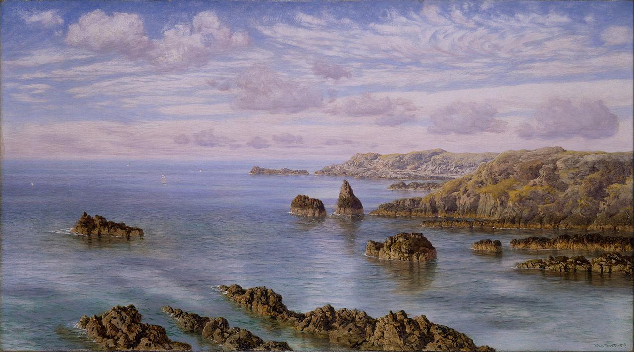 John Brett - Southern Coast of Guernsey, 1875