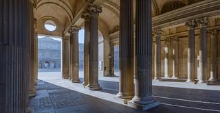 Image of Louvre Palace near Paris 01. paris france îledefrance muséedulouvre courcarré
